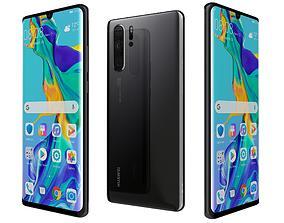 Huawei P30 Pro Black 3D
