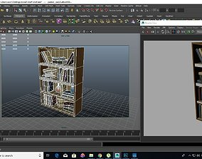 book shelf magical 3D