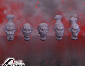 Nosferii - Female Heads 3D printable model