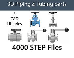 VALVES AND FITTINGS MULTI-PACK FOR PROCESS 3D model 2