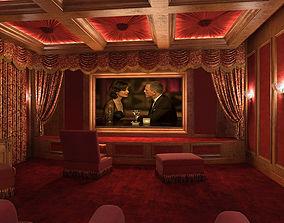 3D Movie house nice-model