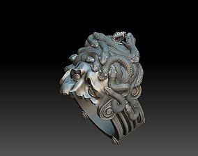 medusa ring 3D print model 3D print model