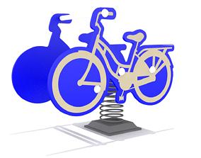 Playground - Bike Rider 3D asset