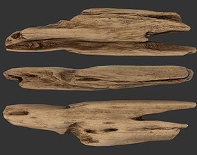 Plank Fragment 3D model realtime