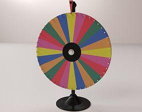 3D Spinning Wheel 2