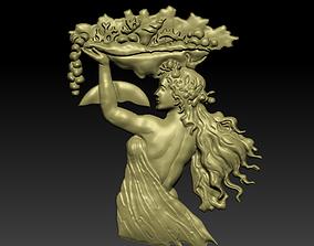 3D print model Decor of a girl