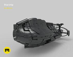 3D printable model Fantasy Spaceship