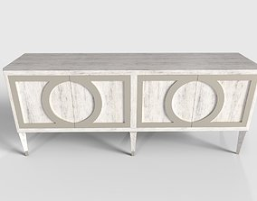 3D asset Domaine TV Stand Console Table
