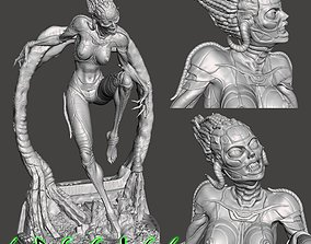3D print model Alien Girl SPECIES Part 1 by SPARX