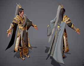 3D asset General of Ancient China Ancient Chinese Armor 2