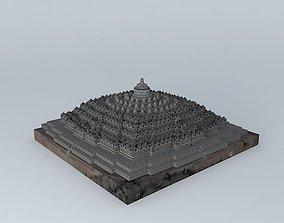 3D Borobudur Temple