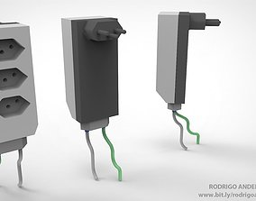 POWER PLUG 3D print model