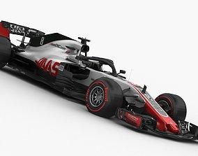 vf 3D model F1 Haas VF-18 2018
