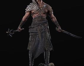 3D model Exotic Warrior Mercenary