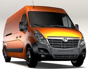 Vauxhall Movano L3H2 Van 2016 3D