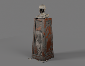 Broken Bust 3D model