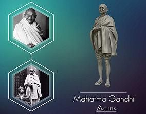 Mahatma Gandhi 3D printable model mahatma bust