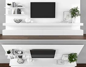 Tv stand 3D model realtime furniture
