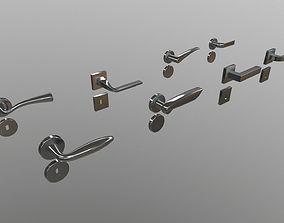 3D Door Handle Collection - Pack - Set