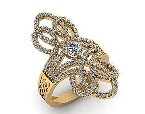 3D print model 505 Diamond Ring for Women