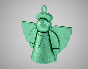 Little Angel Ornament 3D print model