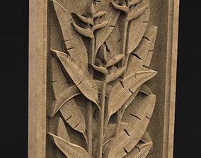 Decorative Panel Nature 3 3D Model