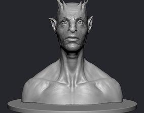 Creature Bust 3D printable model