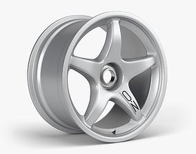 OZ Racing Wheel 3D asset