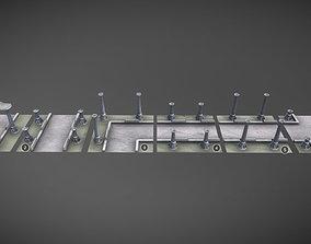 3D model Stone walkway MUD