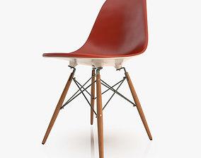 3D model Modern Eames Plastic Chair
