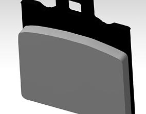 3D printable model Vespa Brake pad