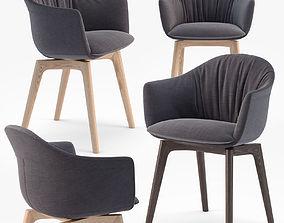 MDF Italia Siena armchair 3D model
