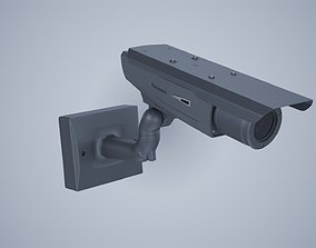 cctv camera render ready corona 3d model video