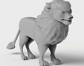 sculpture Lion Sculpture 3d print model 3D print model