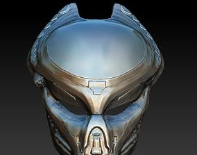 Fugitive Predator bio mask 3d model 3D model