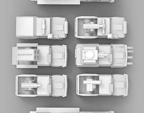 Technical Pack 3D print model
