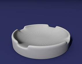 Ashtray 3D printable model