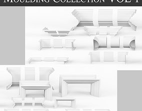 3D model Architectural Moulding Collection VOL 1