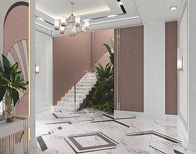 lobby modern design 3D
