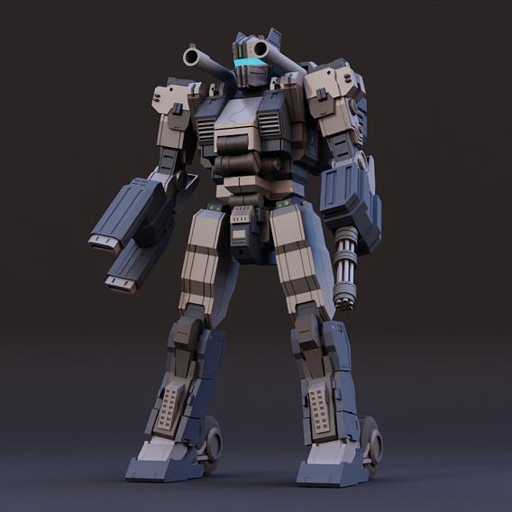 GMF-01 Type Ranged