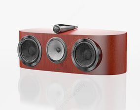 Bowers and Wilkins HTM1 D3 Rosenut 3D model