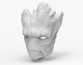 Groot Mask 3D printable model