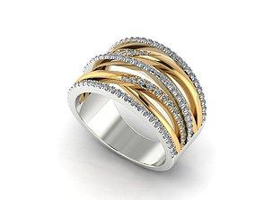 3D printable model ring Women Ring