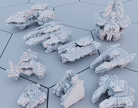 3D printable model Twilight Imperium ships Yssaril Tribes