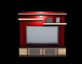 TV SET room 3D model