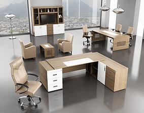 office interior desk 3D