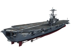 USS George H W Bush Aircraftcarrier CVN-77 3D