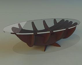 table platen Table 3D model