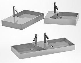 Washbasin Rythmik 3D asset
