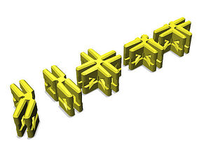 CardBuild Connectors 3D print model